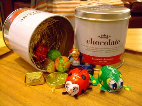 カファレル アソートチョコレート