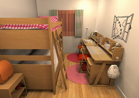 s-REVE2段ベッド2
